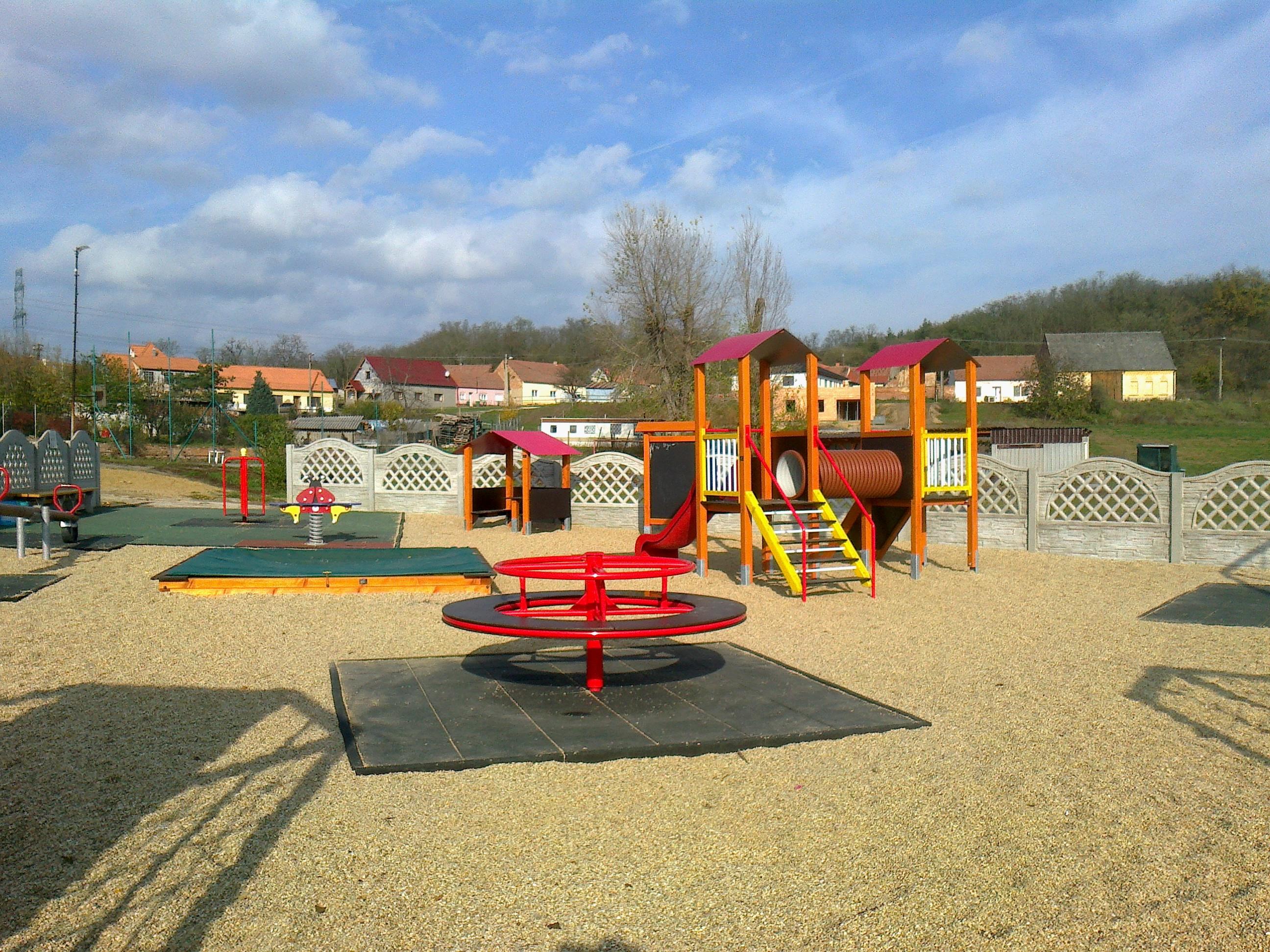 Dětské hřiště Němčičky